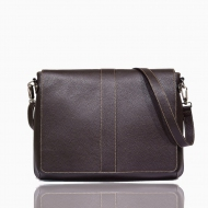 Leather messenger bag, Austyn L
