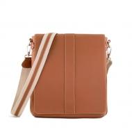 Leather messenger bag, Alex L