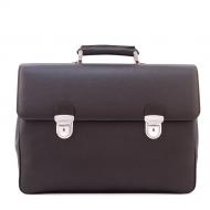 Men's Leather Briefcase, Brummel