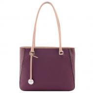 Leather Handbag, Silvia