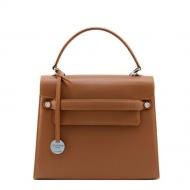 Leather Handbag with strap, Amelia L