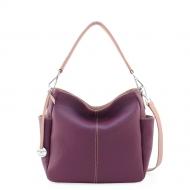 Leather hobo bag, Donata S