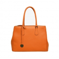 Leather Tote Bag with Strap, Patrizia 33