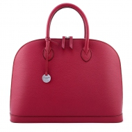 Leather Handbag with strap, Sofia 40