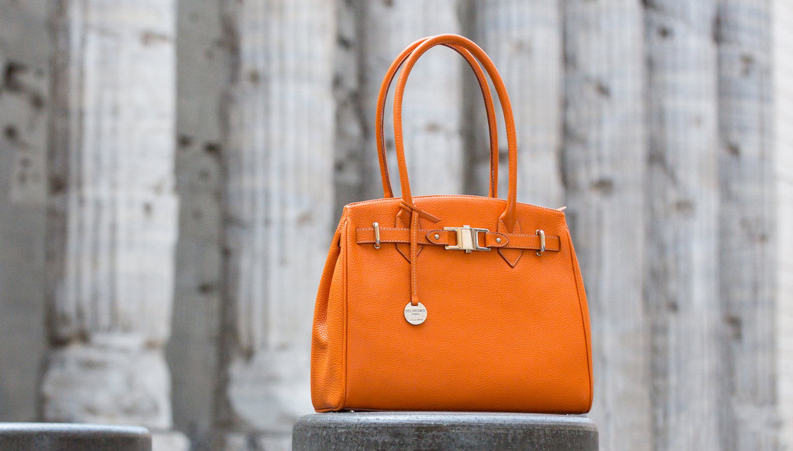 Handmade italian leather bags | Del Giudice Roma