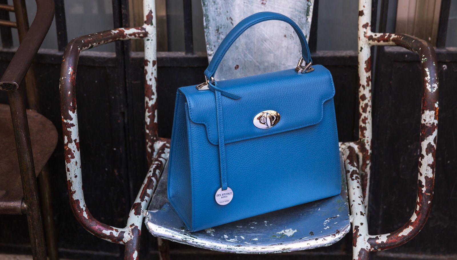 Leather handbag - Del Giudice Roma