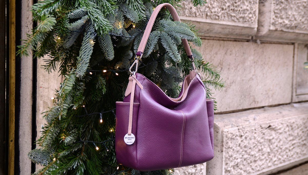 Italian leather bags for women