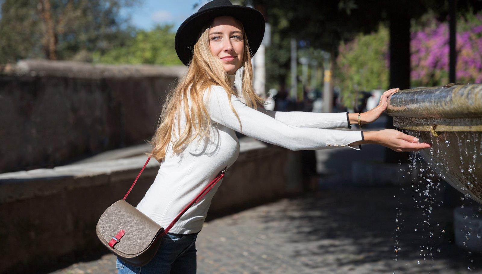 Italian leather bag Irina21