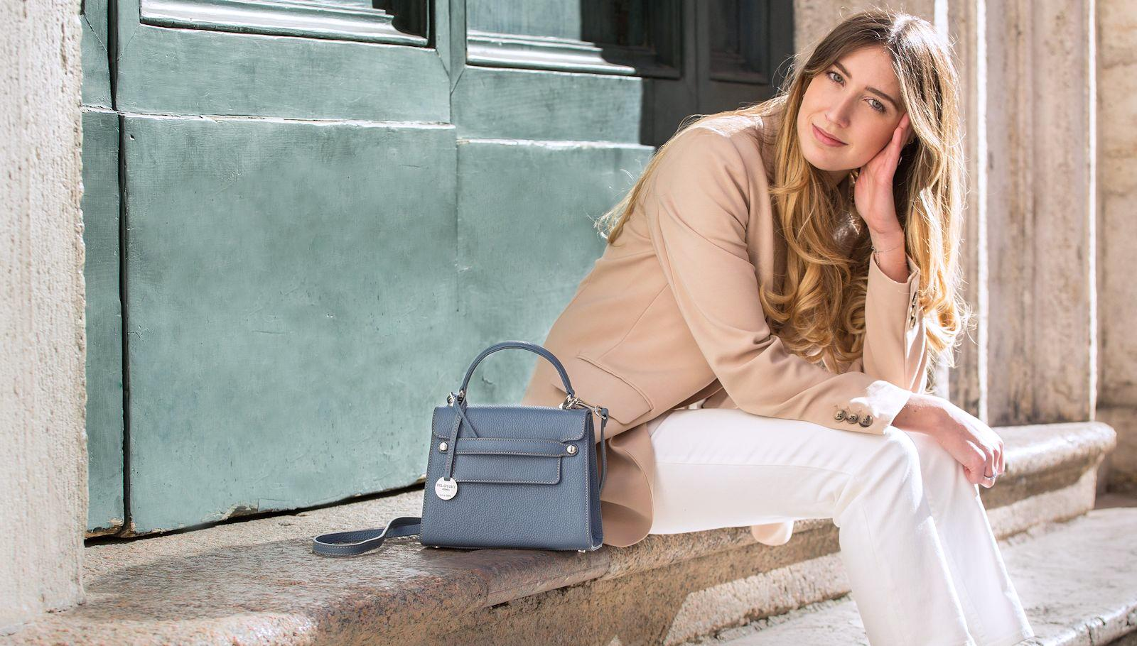 Italian leather handbags - Del Giudice Roma
