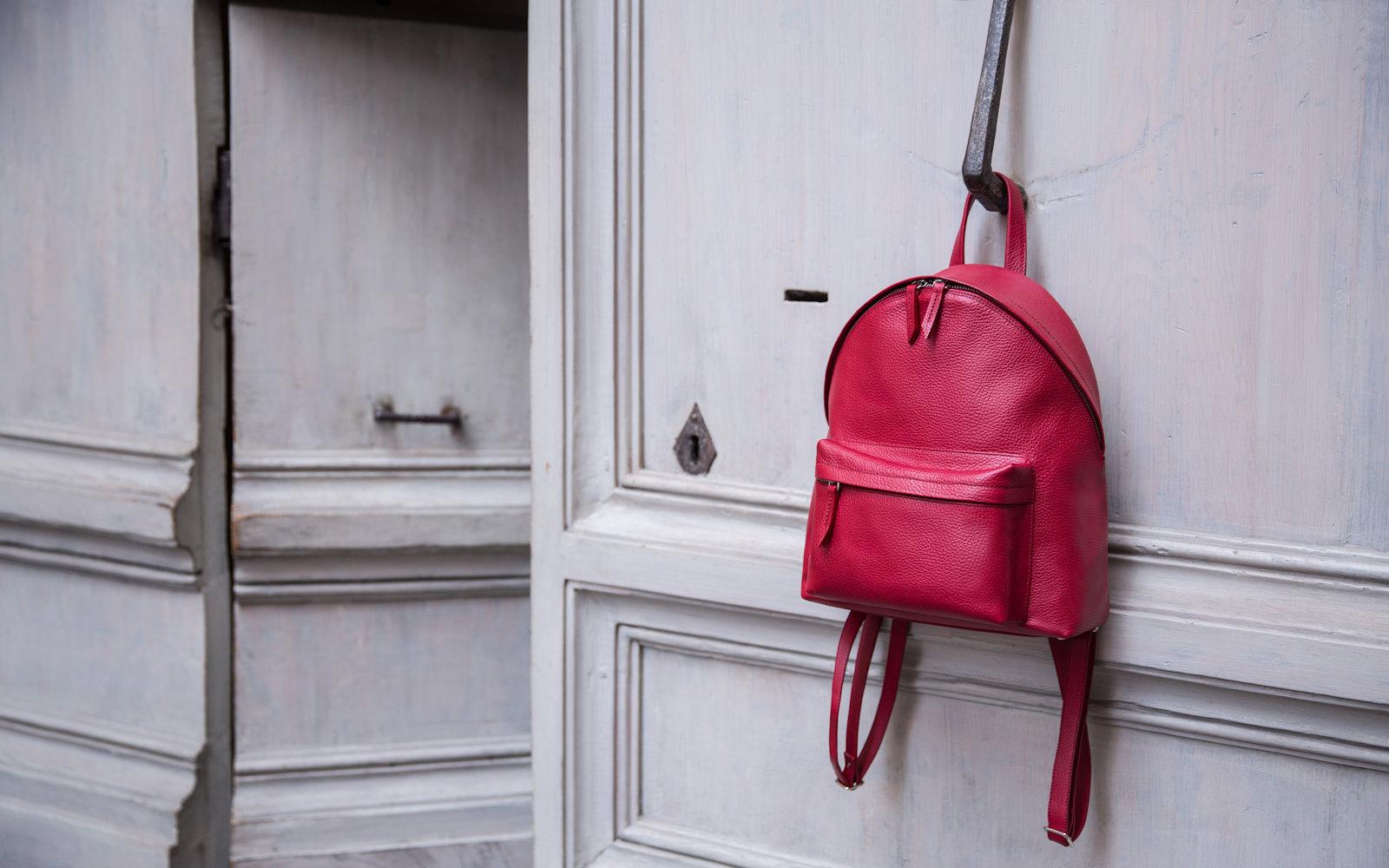 Handmde Leather Backpacks