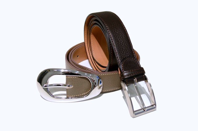 Handmade leather belts for men and women