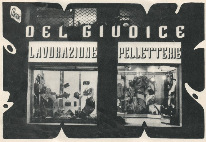 First leather store | Del Giudice Roma