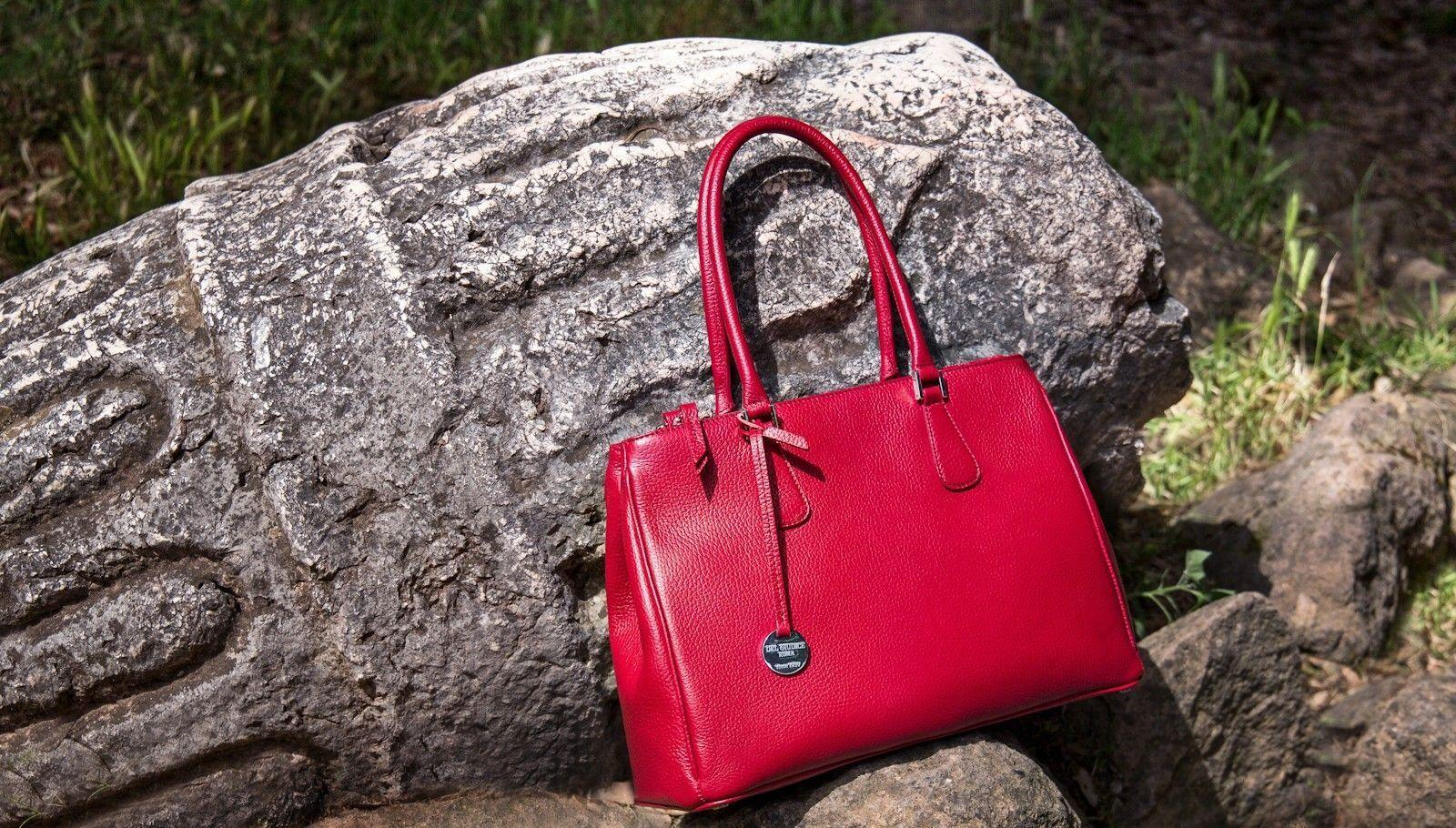 Italian leather bag - Patrizia
