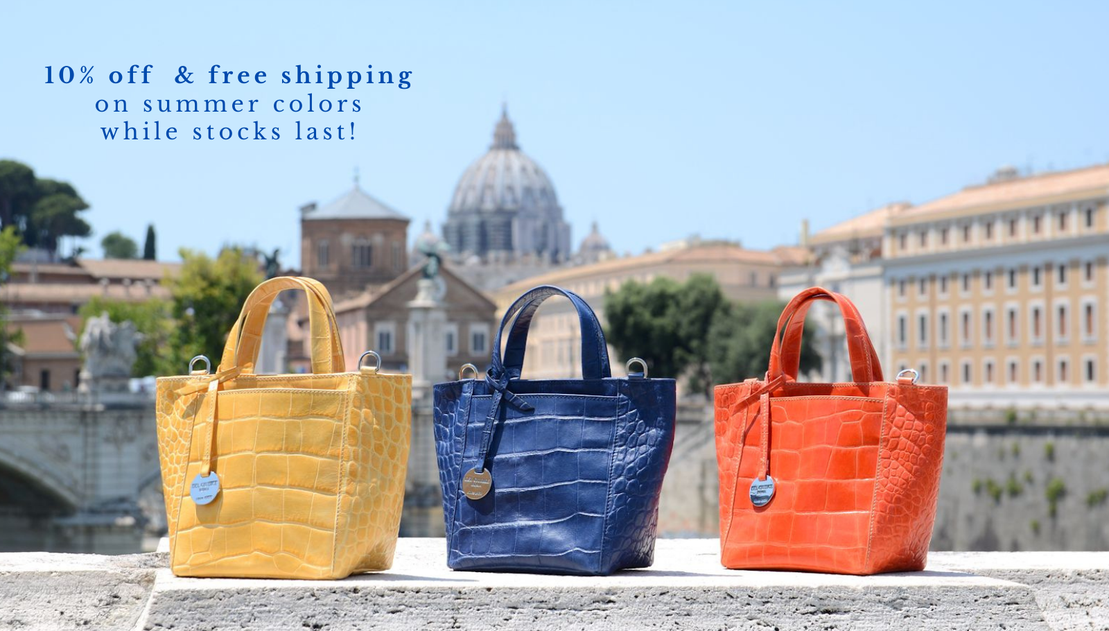 Italian leather handbags - Simona xs