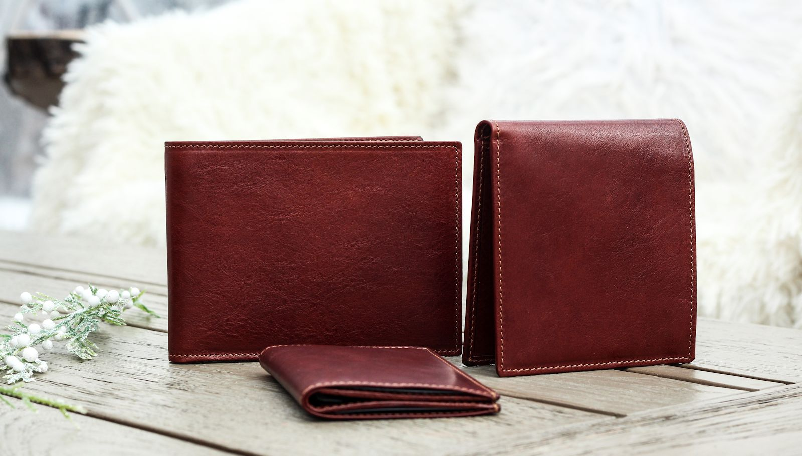 Italian handmade leather wallets