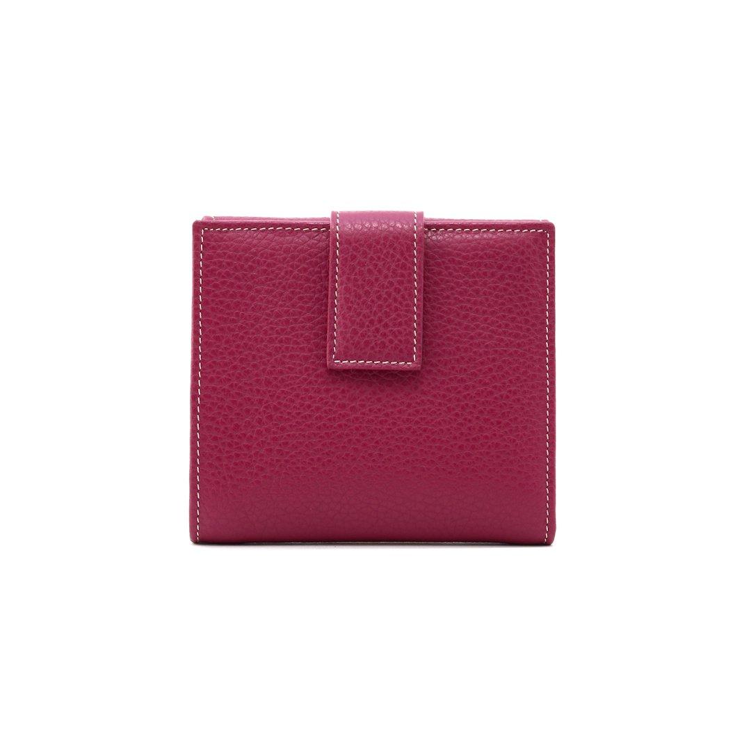 P250 leather wallet magenta color
